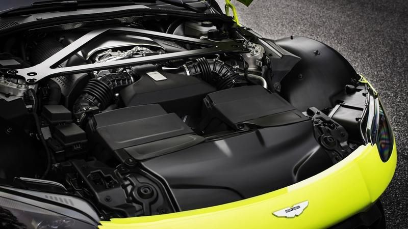 Aston Martin Prepares to Wave Bye-Bye to the Mercedes-Sourced V-8 To Make Way For This New, More Evolved Engine