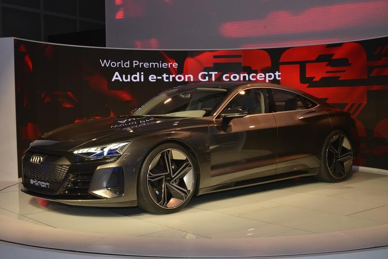 2018 Audi E Tron Gt Concept Top Speed