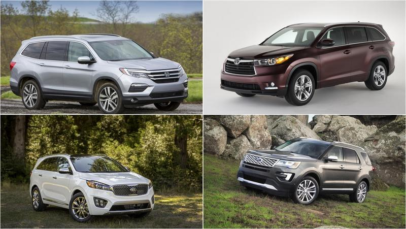 Best Used Midsize SUV from 2016