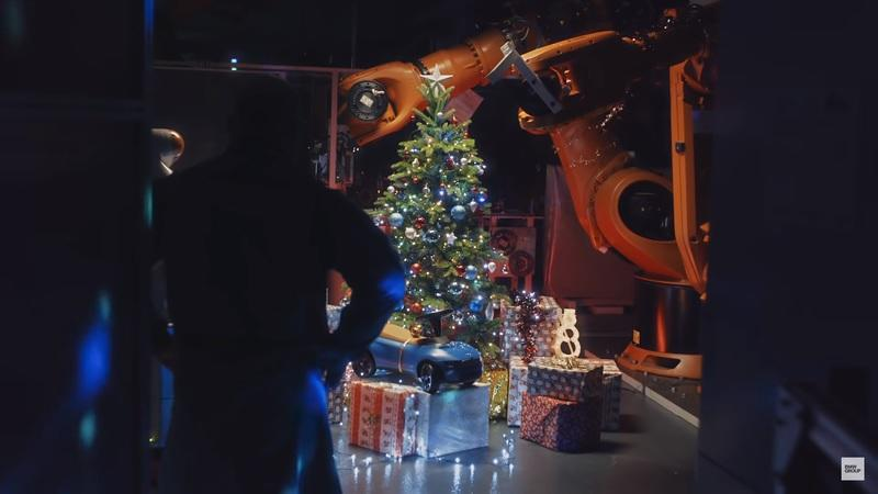 BMW's New Holiday Commercial Shows Off Technology with Christmas Spirit
