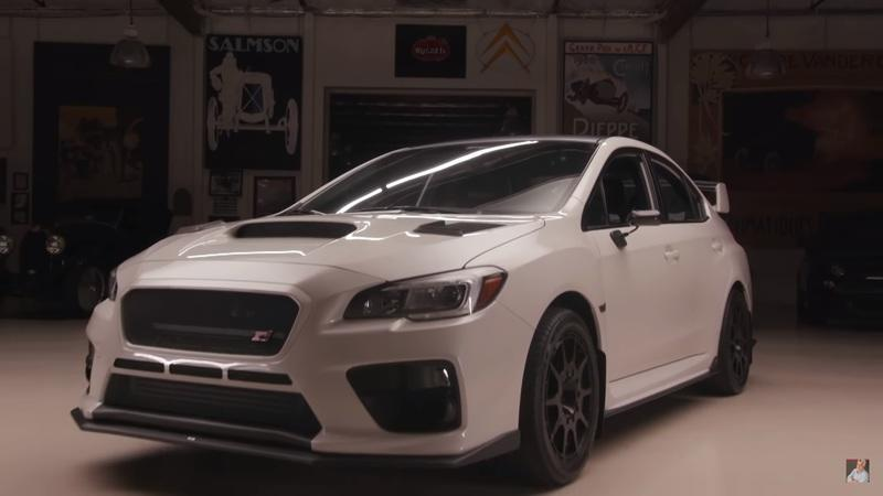 Bucky Lasek Brings His Tuned Subaru WRX STI To Jay Leno's Garage: Video