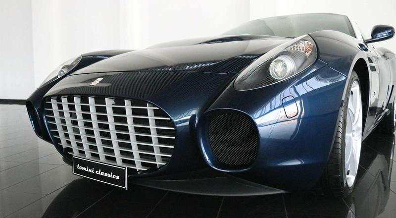 Car for Sale: Rare 2007 Ferarri 599 GTZ Nibbio Zagato