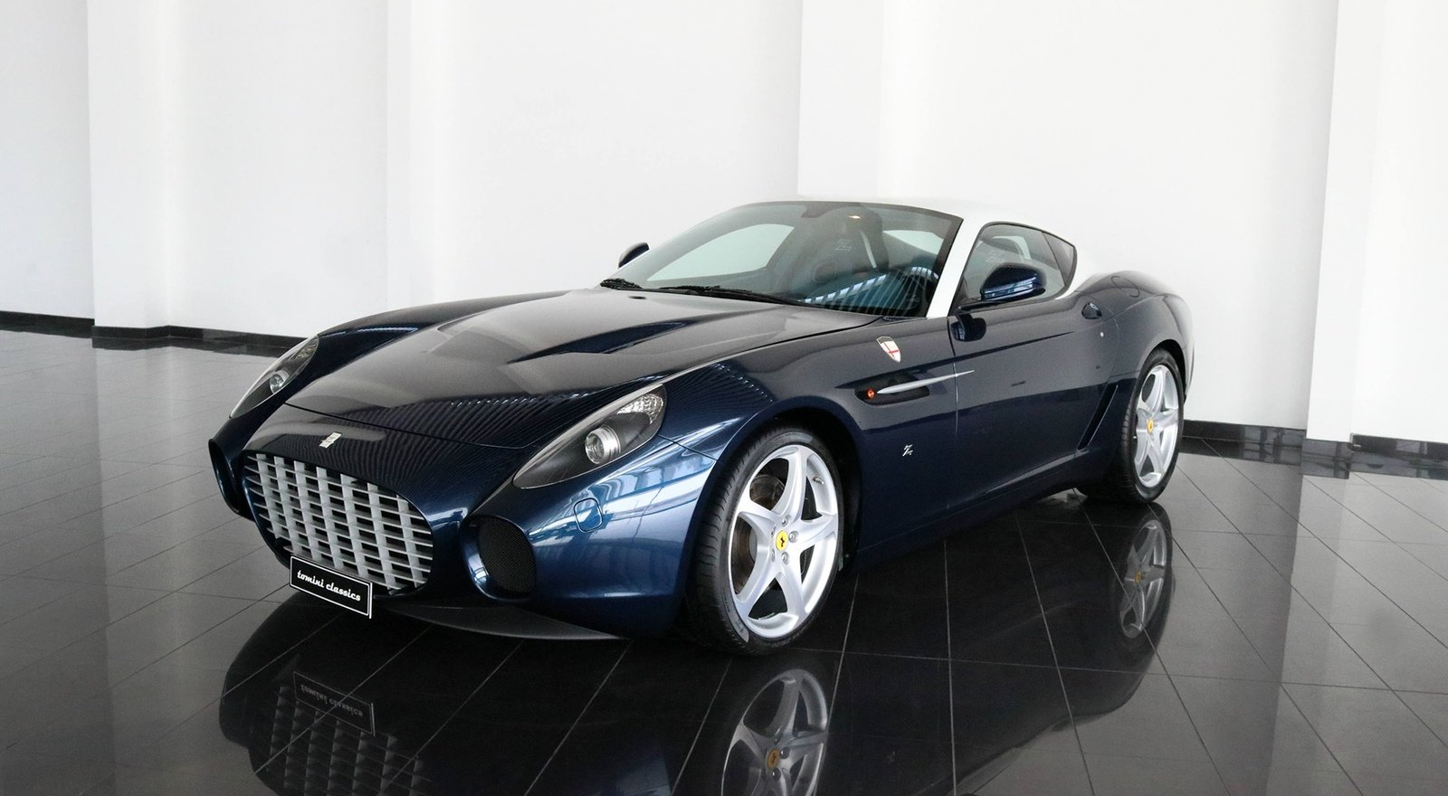 Different Types Of Cars >> Car For Sale: Rare 2007 Ferarri 599 GTZ Nibbio Zagato ...