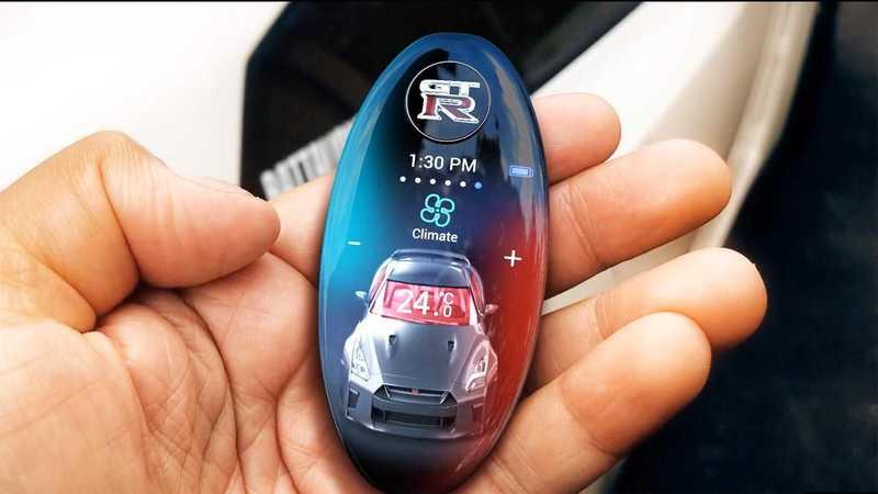 Check Out This Awesome Nissan GT-R Key Fob