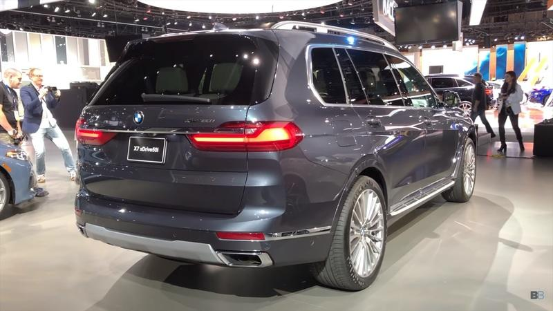 BMW With 3Rd Row Seating >> Check Out This Nice Demo Of The 2019 BMW X7's Third-Row ...