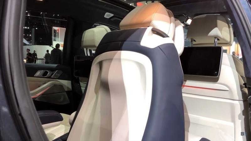 Check Out This Nice Demo of the 2019 BMW X7's Third-Row Seating