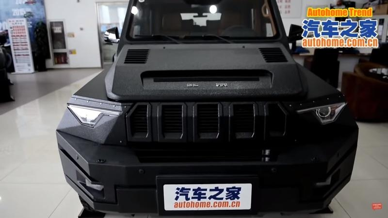 China's Military Laughingly Names the BAIC BJ80 as the Most Reliable Off-Road Vehicle