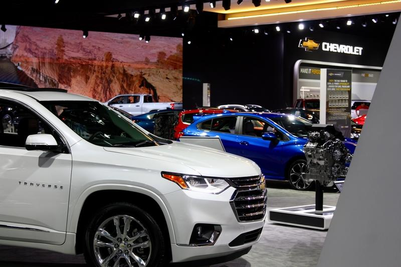 Don't Think Chevy is Struggling? It's Booth at the 2018 Los Angeles Auto Show Says it All