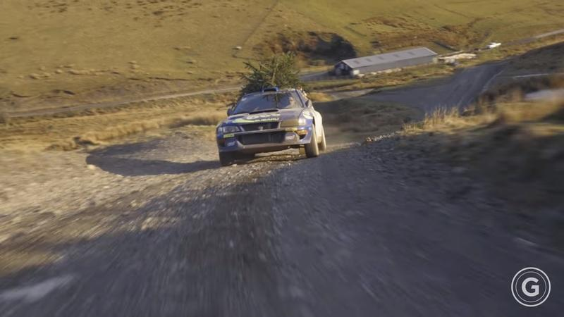 Ex-McRae Impreza stars in Girardo & Co's Christmas Video