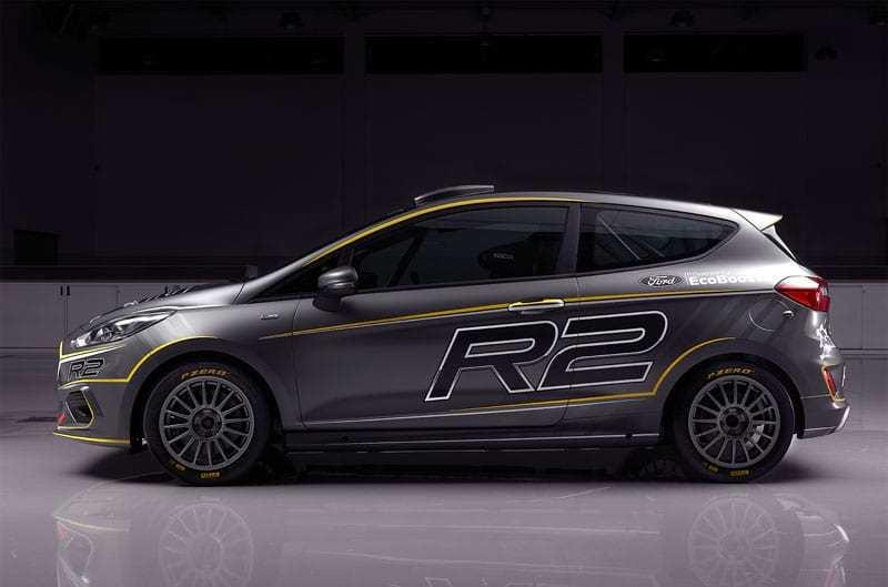2019 Ford Fiesta R2 Rally Car