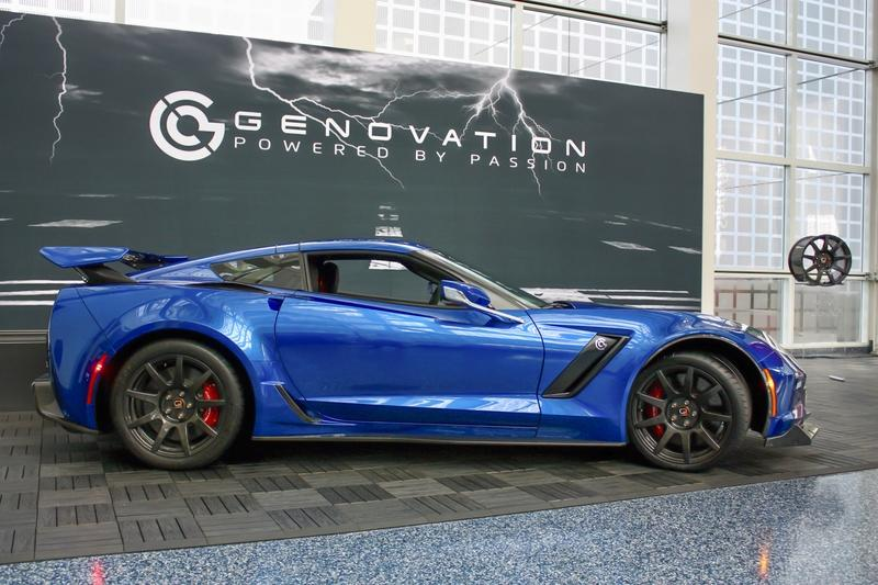2019 Genovation GXE Electric Chevy Corvette | Top Speed