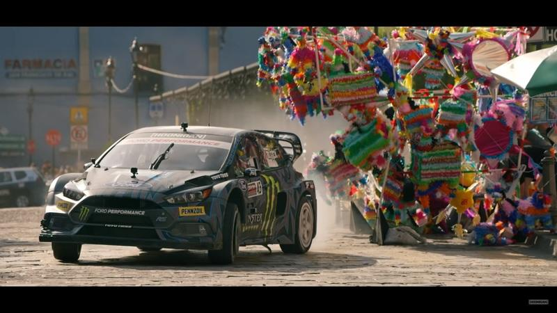 Gymkhana 10 - 5 Cars, 5 Cities, Lots of Rubber