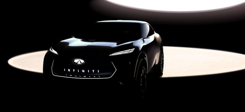 Here's a Teaser of Infinities Detroit-Bound Coupe-Like Electric Crossover - image 810409