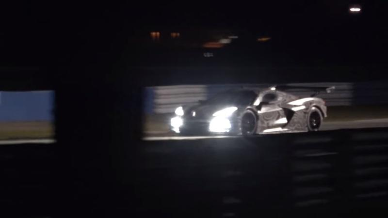 Here's the Chevy Corvette C8.R Testing at Sebring - image 808782