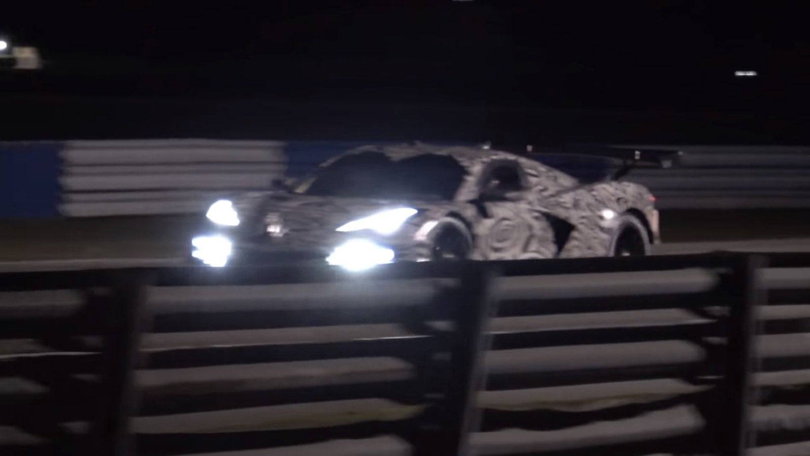 Here's The Chevy Corvette C8.R Testing At Sebring | Top Speed