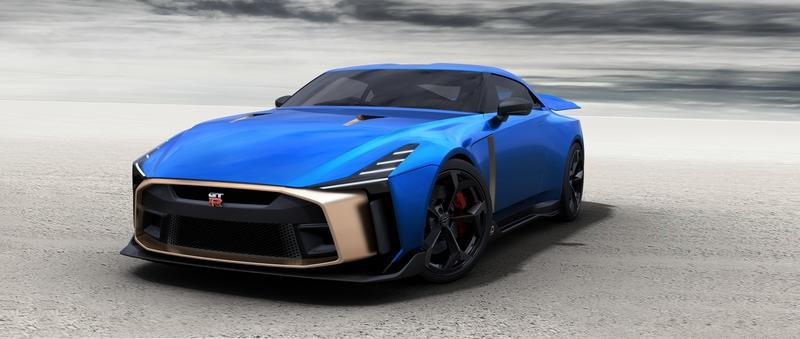 Here's the Nissan GT-R50 by Italdesign In Production Form