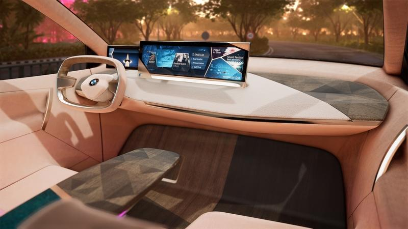 If You're Going to the 2019 Consumer Electronics Show, BMW Wants to Give You a Virtual Ride in the 2020 iNext