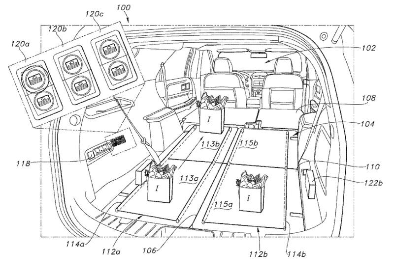 Is Ford's Trunk Conveyor Belt Patent Proof Consumers are Getting Really Lazy?
