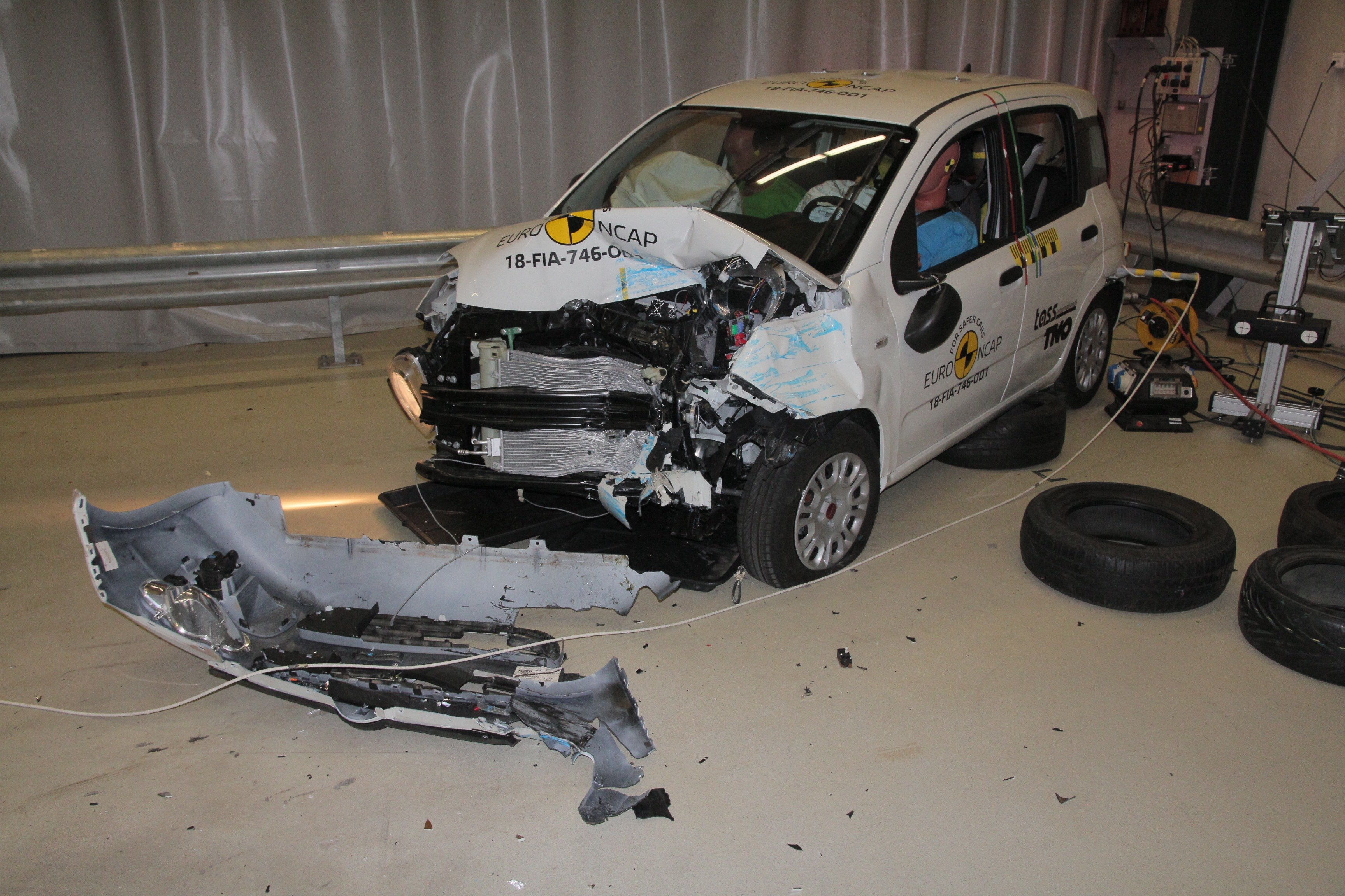 Is The 2018 Fiat Panda a Death Trap  Here s the Crash Test Video ... d3a5f276d