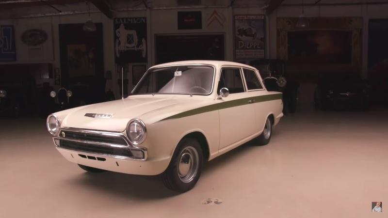 Jay Leno's Garage Gives Some Love to the 1966 Lotus (Ford) Cortina