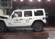 The 2019 Jeep Wrangler JL Scores a Disappointing One-Star Rating in Euro NCAP Crash Testing - image 808370
