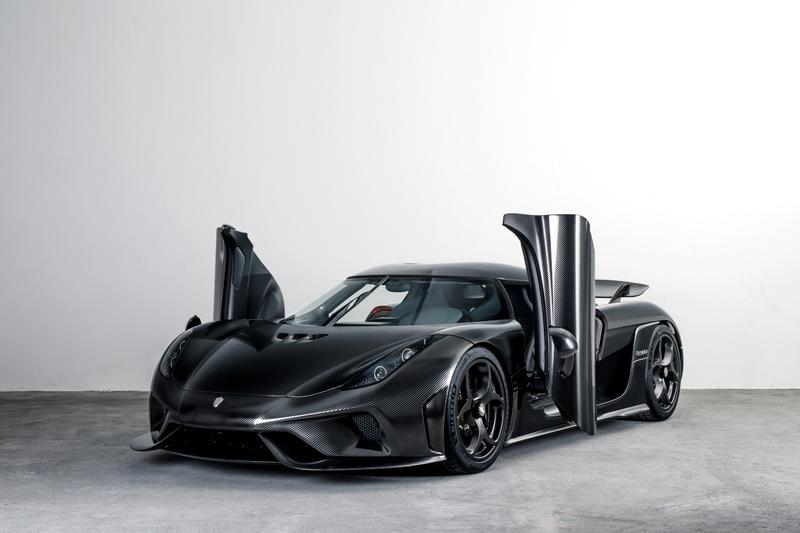 Meet the 2018 Koenigsegg KNC Regera, The World's First Naked Carbon Vehicle