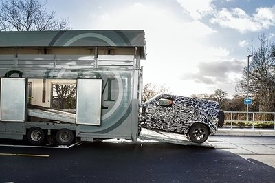 Land Rover Teases The New Defender
