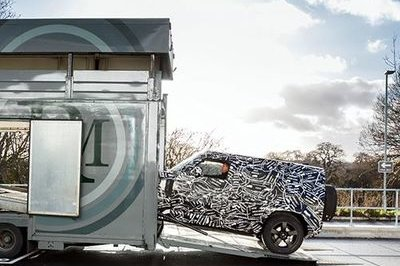 The 2020 Land Rover Defender Could Be Revealed at the 2019 Frankfurt Motor Show