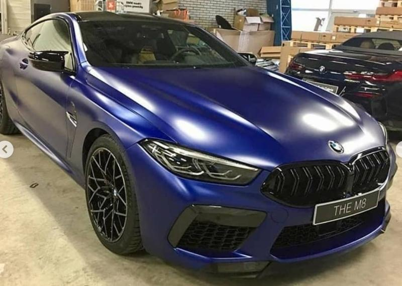 Leaked Images Showcase the 2020 BMW M8 Before You're Supposed to See It