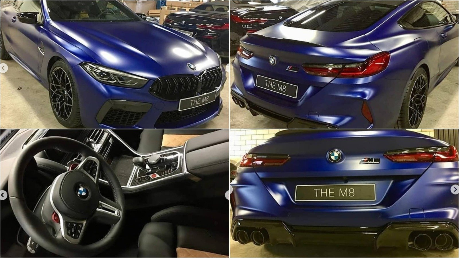 Leaked Images Showcase The 2020 Bmw M8 Before You Re