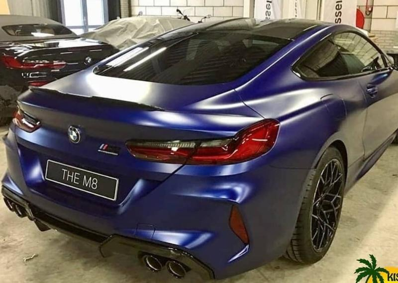 Leaked Images Showcase the 2020 BMW M8 Before You're Supposed to See It - image 808567