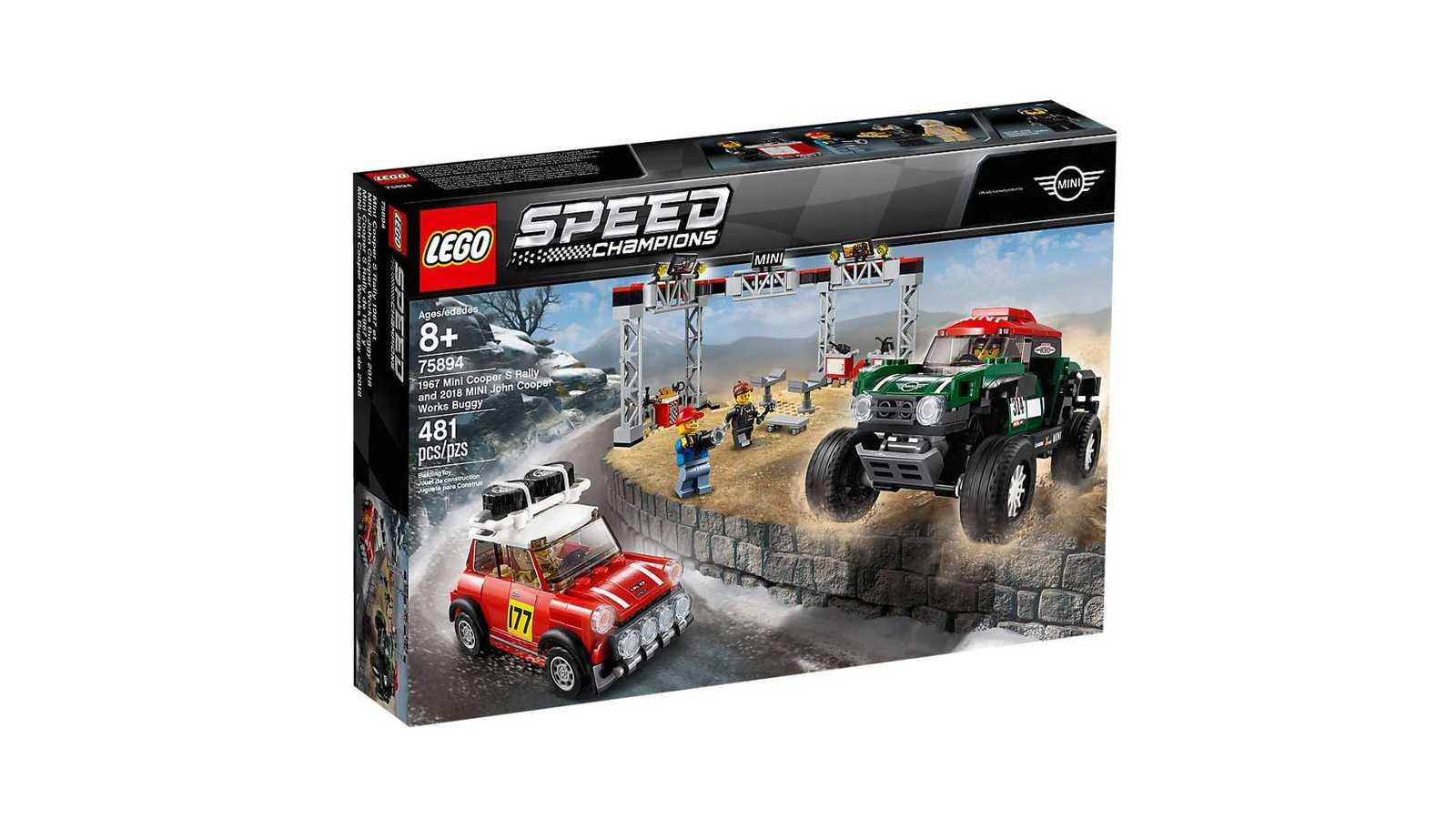 lego 39 s 2019 speed champions lineup is loaded with pony. Black Bedroom Furniture Sets. Home Design Ideas