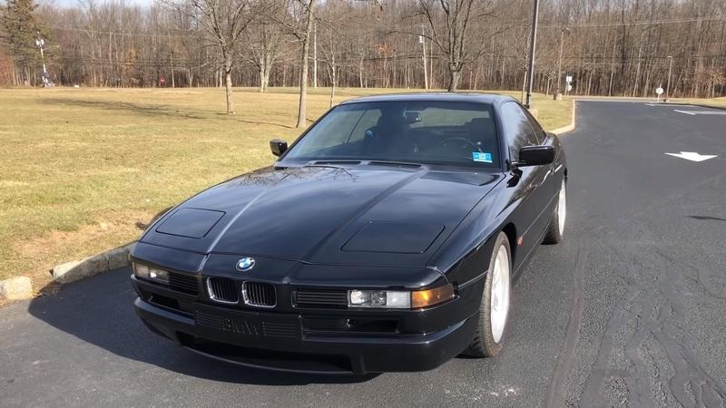 Look Back at the Classic , 1990 - 1999 BMW 850i V-12