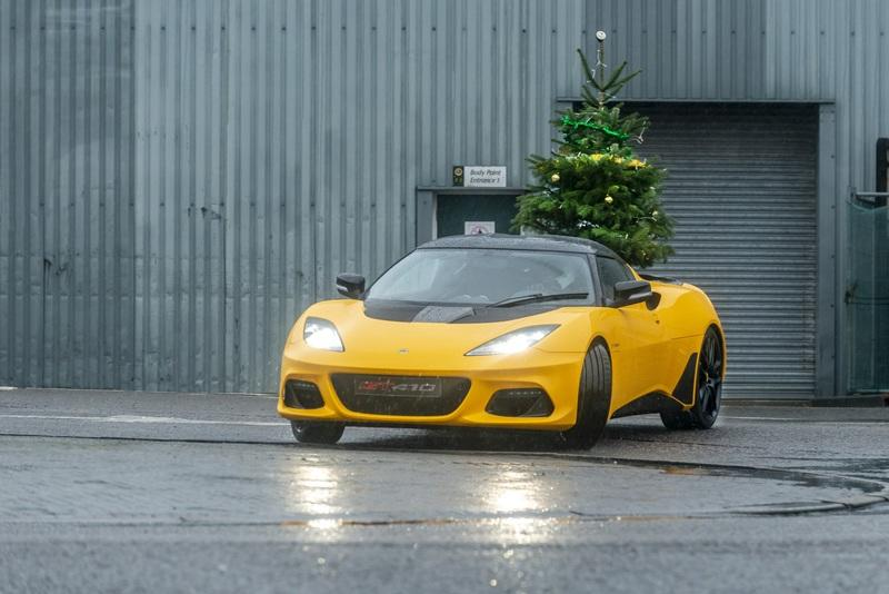 Lotus Wants to Wish You a Merry Driftmas and a Hethel New Year
