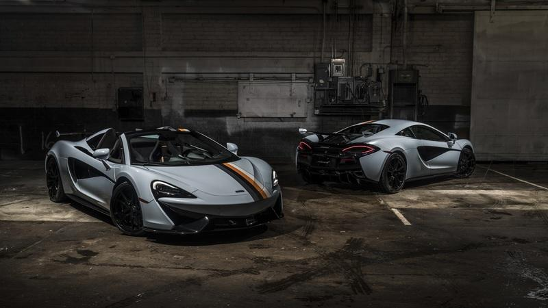 McLaren Special Operations Launches 'Racing Through the Ages' six-car collection - image 810036