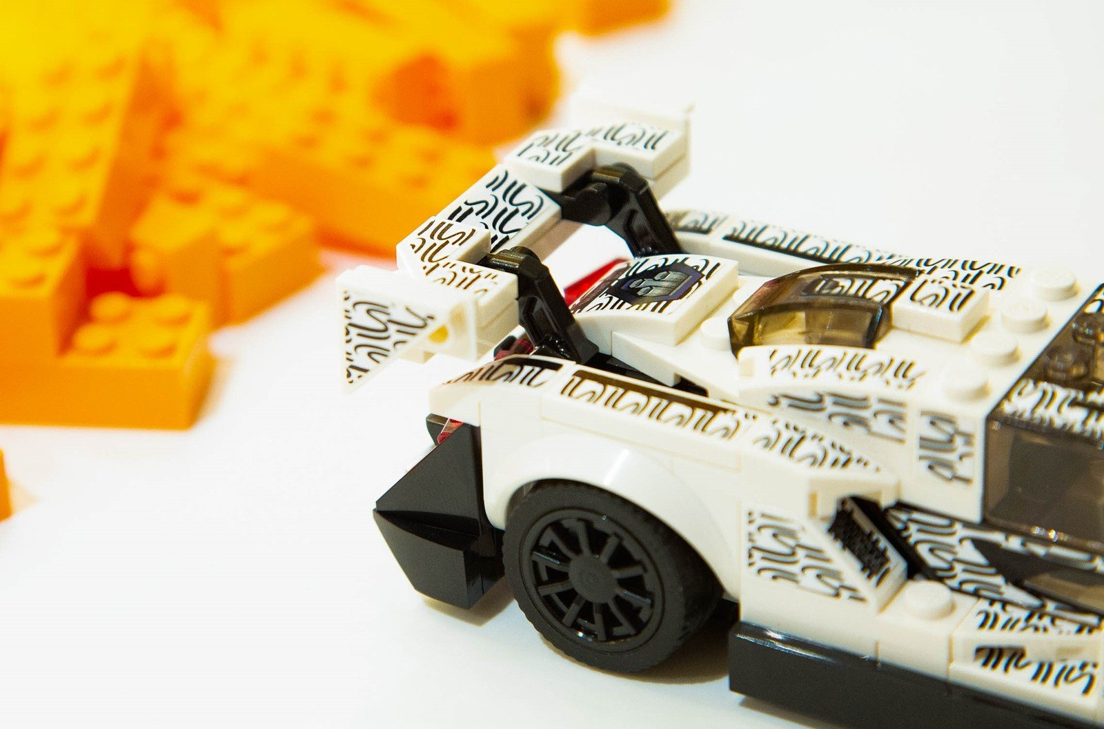 mclaren teases a lego champions senna in london toy store. Black Bedroom Furniture Sets. Home Design Ideas