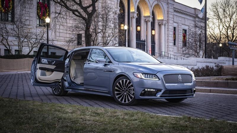 Meet the 2019 Lincoln Continental Coach Door Edition, Complete with Suicide Doors