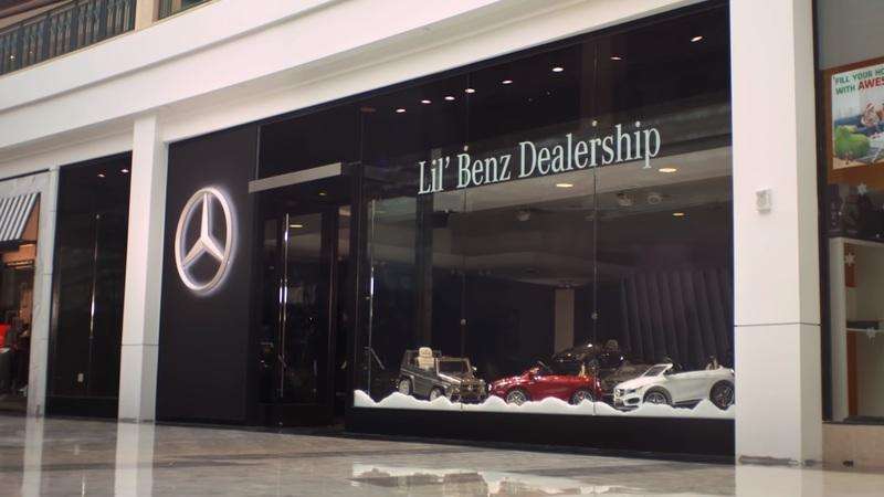 Mercedes-Benz Creates Lil' Dealership for Kids and It's the Cutest Thing Ever