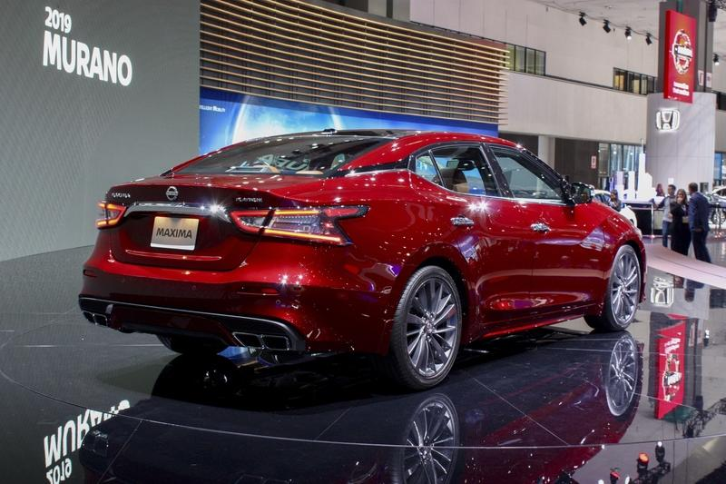 2019 Nissan Maxima Top Speed
