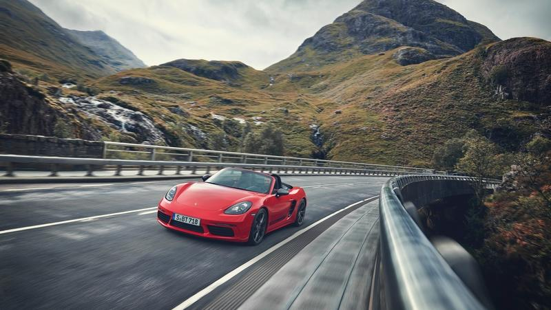 2019 Porsche 718 Boxster T Top Speed