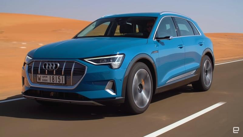 Reviewers Try Out The New All-Electric 2019 Audi e-Tron Quattro SUV