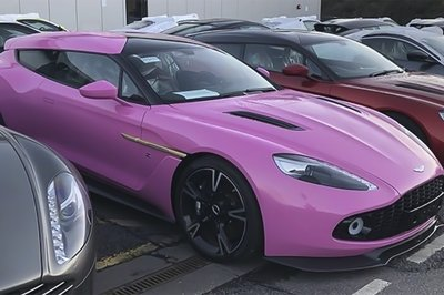 Someone Has Ordered a Raging Pink Aston Martin Vanquish Zagato Shooting Brake and We Understand