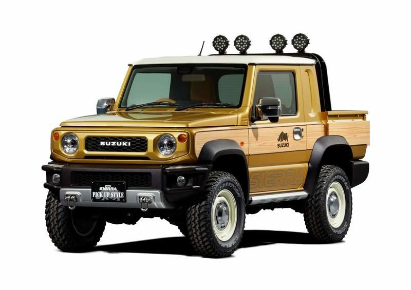 Suzuki Should Build this Jimny Sierra Pickup and Sell it to the Masses