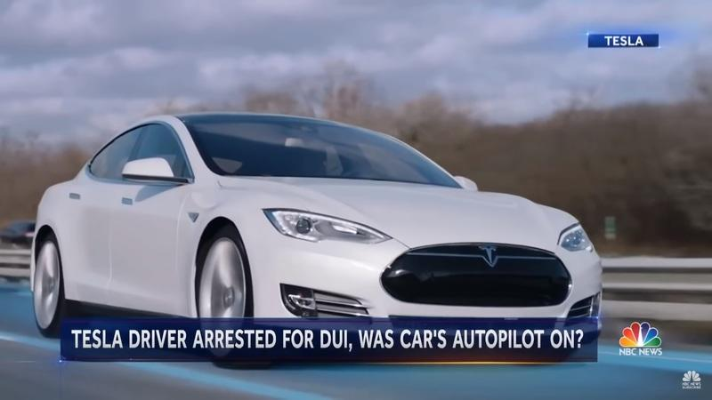 Tesla Model S Drove On Autopilot and Saved The Drunk Driver's Life