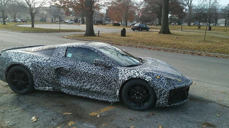 The 2020 Chevy C8 Corvette Is Delayed for Electrical Problems Yet It's Still Testing In Michigan