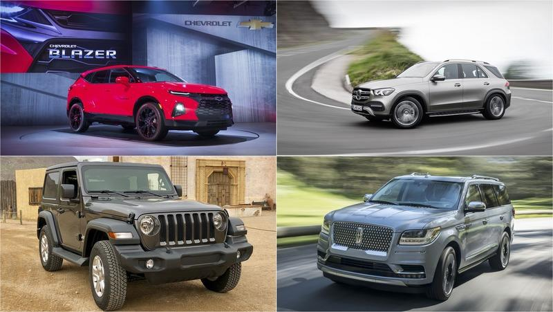 The Best and Most Important SUVs of 2018