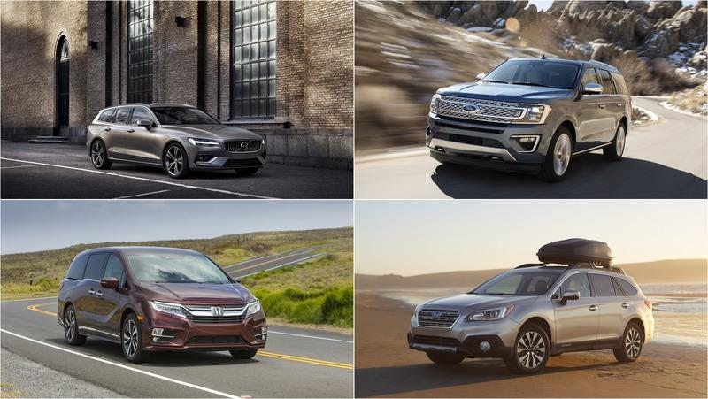 The Best Vehicles from 2018 For Holiday Road Trips