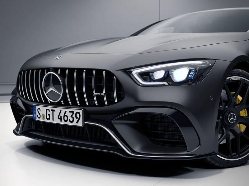 The Mercedes-AMG GT 4-Door Coupe Now Offered With Aero Kit