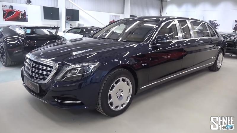 The Mercedes-Maybach S-Class Pullman Is Nothing Short Of The Royal Penthouse Suite
