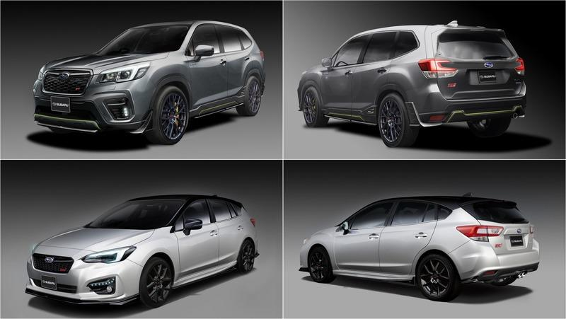 The Subaru Impreza STI and Forester STI e-Boxer Concepts Coming To Tokyo are Crazy Sexy